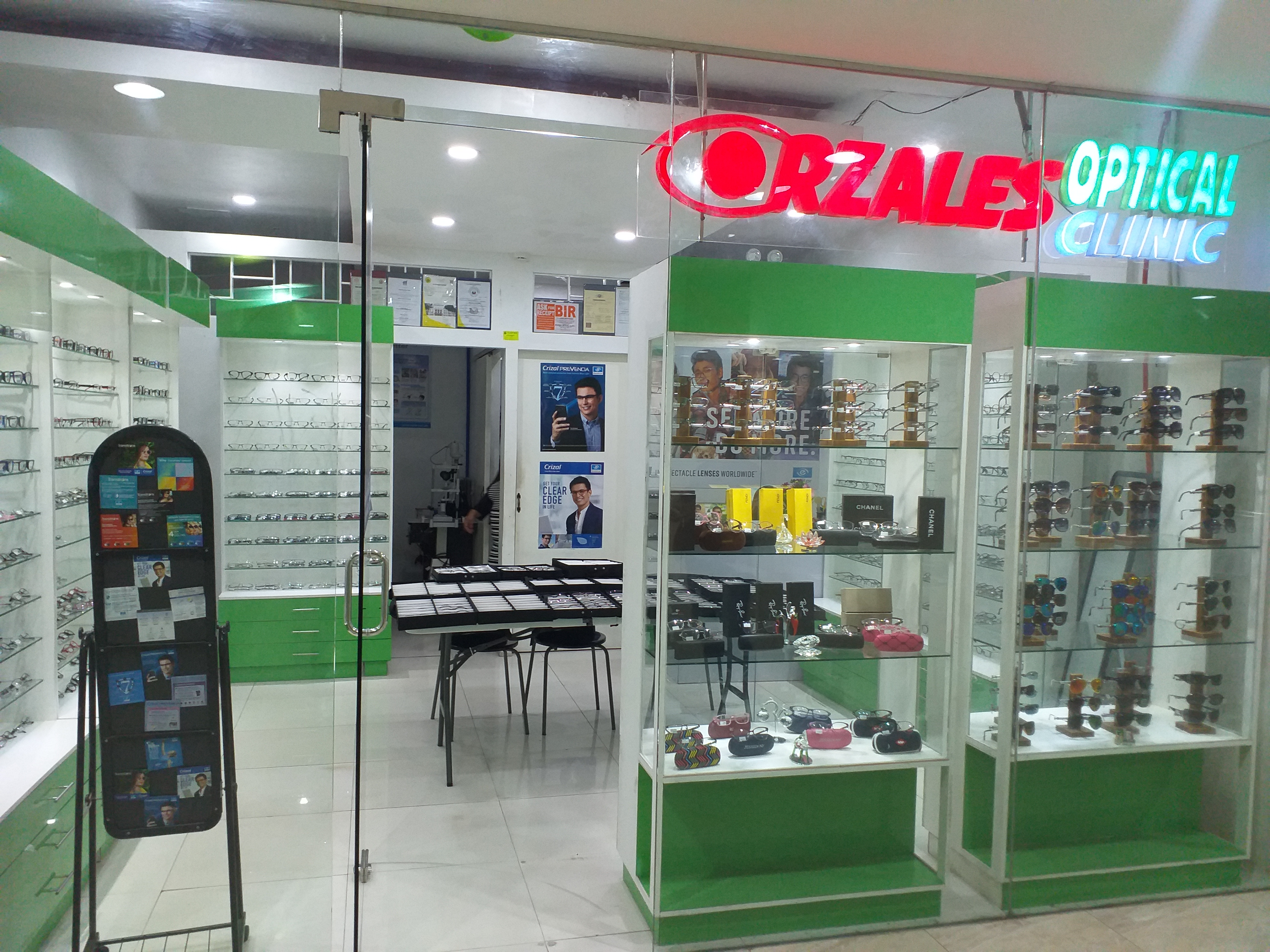 ORZALES OPTICAL CLINIC